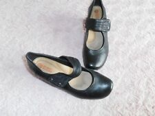 Planet shoes leather heeled mary jane 9