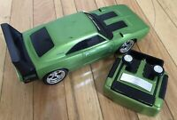 RC Road Rippers Dodge Daytona Green Rare with REMOTE *WORKS*