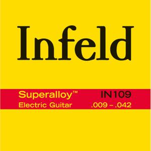 JEU CORDES GUITARE ELECTRIQUE THOMASTIK INFELD SUPERALLOY 09-42