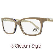 Montblanc Rectangular Eyeglasses MB429V 059 Size: 57mm Dove Gray 429