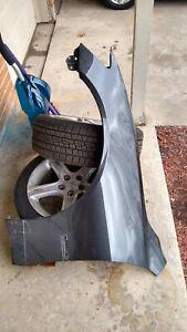 LX1250102 Parts N Go 2001-2005 IS300 Sedan Fender Liner Driver Side Splash Guard Left Hand 5387653023