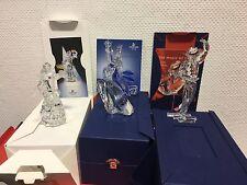 Swarovski Konvolut, 3 Jahresfiguren: Isadora, Antonio, Columbine. Ovp & Zertifik