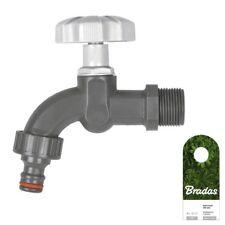 3/4 Kunststoff Garten Bewässerung Wasserhahn WL-K134 BRADAS 0612