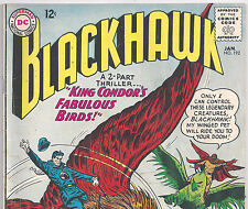 DC Comics Blackhawk #192 King Condor's Fabulous Birds! from Jan. 1964 in VG con.