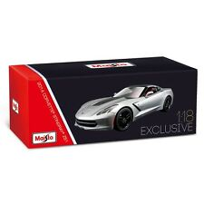 Maisto Mais38132 Corvette Stingray Z51 2014 grise 1/18