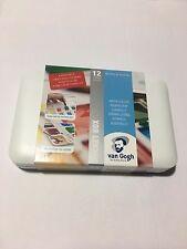 Van Gogh 12 Pan Watercolor Pocket Box, New, Free Shipping