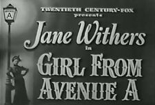 GIRL FROM AVENUE A (1940) DVD JANE WITHERS, KENT TAYLOR
