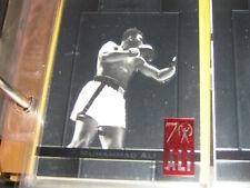 Muhammad Ali - 2011 Leaf Metal 70th Birthday Commemorative SP - Card #48