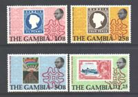 Gambia Rowland Hill #394 - 397 Mint Never Hinged Complete 1979 Set