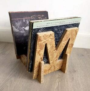 "Vinyl Record Storage Display Rack Stores Up to 65 x 12"" LP's (M Design)"