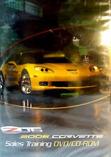 2006 Corvette Z06 Sales Training DVD CD Manual Promotional Owners GM part