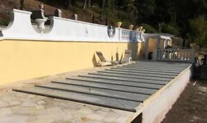 Sicherheits - Schwimmbadabdeckung Rollabdeckung Poolplane Poolabdeckung