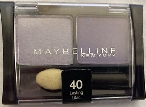 MAYBELLINE EYESHADOW EXPERT WEAR - # 40 LASTING LILAC -BRAND NEW AND SEALED