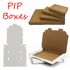 More details for white or brown a4 a5 a6 dvd dl postal boxes large letter cardboard shipping pip