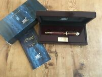 Used LIKE NEW - Fountain Pen MONTBLANC Pluma CATHERINE THE GREAT Limited Edition