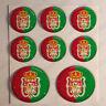 Pegatinas Granada Pegatina Bandera Granada Resina Vinilo Relieve España 3D