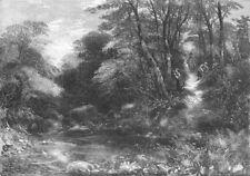 FRUIT. Blackberry Dell, antique print, 1857