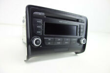 Original Audi TT TTS 8J Concert Radio Autoradio CD Stereo Head Unit