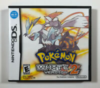 Pokemon: White Version 2 (Nintendo DS, 2012) Authentic - COMPLETE -Fast Shipping