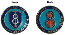 8th Inf. Div. Collector Coin