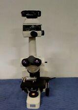 Nikon Eclipse E400 Microscope Withh Iii3 Power Lens Fdx 35 Camera