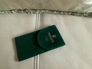 Rolex Watch Case 100% authentic Cover Travel Pouch