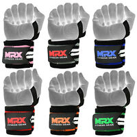Weightlifting Wrist Wraps Gym Training Lifting Workout Crossfit Straps MRX Pair