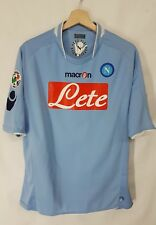 Maglia Calcio Napoli Macron vintage shirt camiseta soccer Napoli Macron