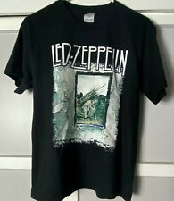 Led Zeppelin, Myth Gem Ltd. 2004- Youth Black Tshirt, Size Youth Large