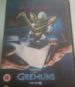 GREMLINS*DVD*CLASSIC MOVIE FILM*COMEDY*RATED 15