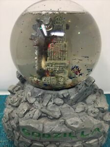 Godzilla Snow Globe DURACELL 1998 - WORKS GREAT -NO BATTERY COVER