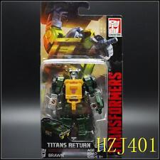 boxed TRANSFORMERS HASBRO TITANS RETURN BRAWN