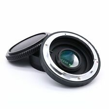 For CANON FD Lens to Nikon SLR Body Mount Adapter Ring Infinity focus with Glass