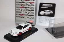 Kyosho 1/64 Porsche Minicar Collection II Porsche 911 GT3 RS White & Red