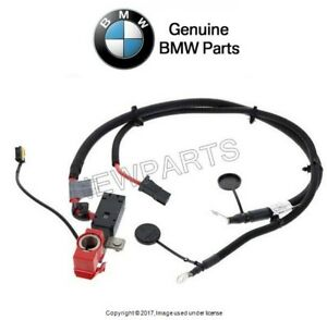 For BMW E93 Convertible 328i 335is Positive Terminal to Battery Cable Genuine