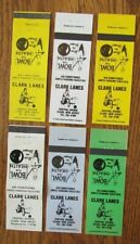 BOWLING: CLARK LANES (CLARK, NEW JERSEY) (6 DIFFERENT) (SPORTS) -G2