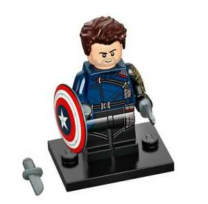 LEGO MINI FIGURINE MARVEL N°4 BUCKY COMPLET MINIFIGURES 71031