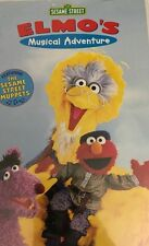 Sesame Street-Elmo's Musical Adventure:The Story of Peter and the Wolf (VHS)RARE