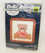 New Dale Burdett CK323 Pitiful Pals Softhearted Pal & Friends Cross Stitch Bears