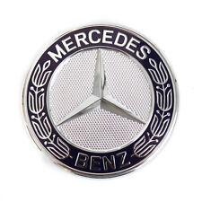 Mercedes-Benz Motorhaube Stern Emblem Blau A B CLK SL SLK M R Klasse A2078170316
