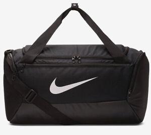 Nike Brasilia Duffel Bag Gym Club Training Sports  Football Bag New 40L Black