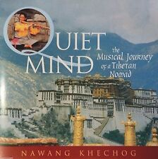 Nawang Khechog - Quiet Mind: The Musical Journey of a Tibetan Nomad (CD) MINT