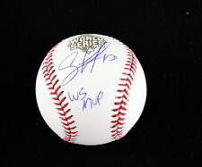 Salvador Perez Autograph 2015 World Series Baseball - WS MVP JSA