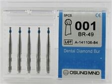Dental Diamond Burs, Standard Grit Multi-Use, 5 Pcs/Pk [001BR-49]
