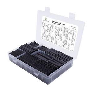 QUADRIOS GmbH großes Schrumpfschlauch Set Sortiment 800 St Industriequalität 2:1