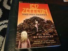 LED ZEPPELIN - BOOK - LED ZEPPELIN AND PHILOSOPHY - SOFT COVER - SCOTT CALEF