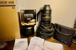 Nikon Nikkor 200-500mm F/5.6E Telephoto Zoom Lens