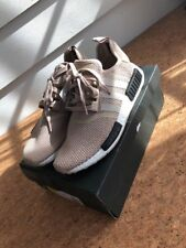 ADIDAS NMD R1 AC8503 Talc Tan  Euro Release Only Womens Size 10.5 100% Authentic