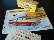 simca star CHAMBORD - ref 24 K to the 1/43 dinky toys atlas