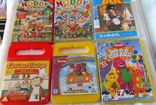 KIDS DVD BUNDLE-NODDY, POSTMAN PAT,BARNEY & CURIOUS GEORGE  -CHILDREN -A3
